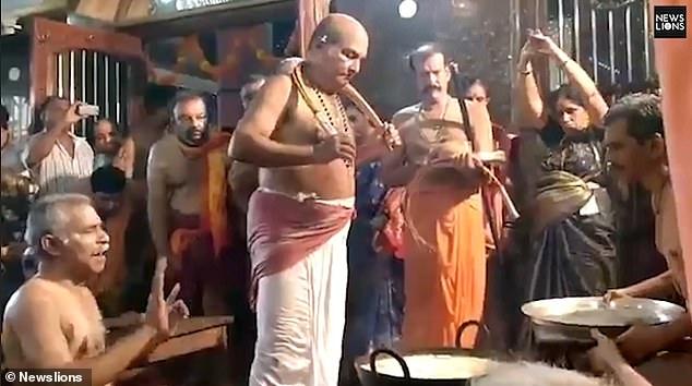 тайны религий, индуизм, supernatural, Religion, масло, Индия, обряд