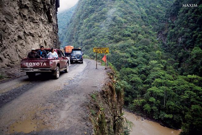 7 ужаснейших дорог на планете Земля