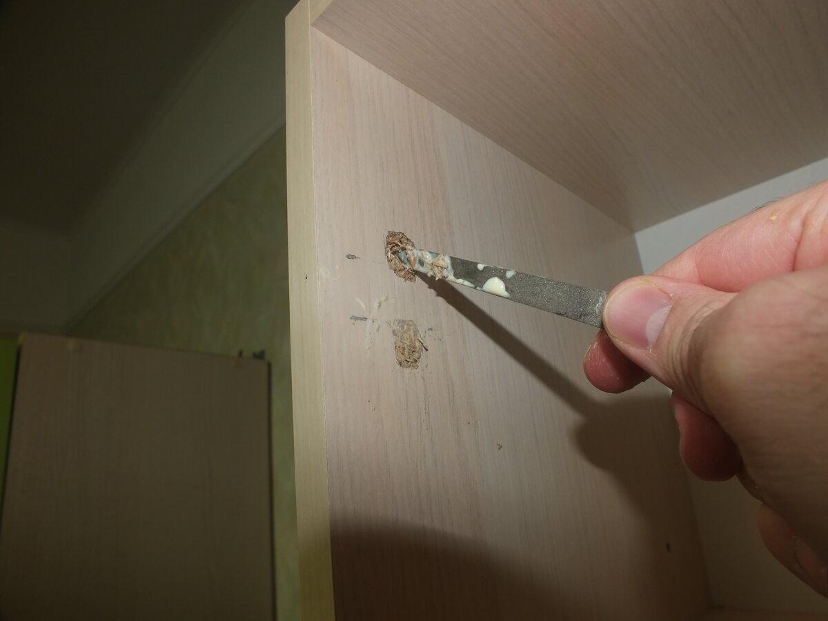 Как я ремонтирую вырванные с корнем петли своими руками кухня,новая жизнь старых вещей,ремонт