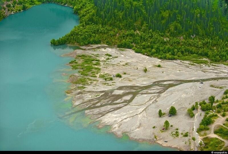 Виды Казахстана с высоты птичьего полёта Казахстан,природа,с высоты птичьего полета