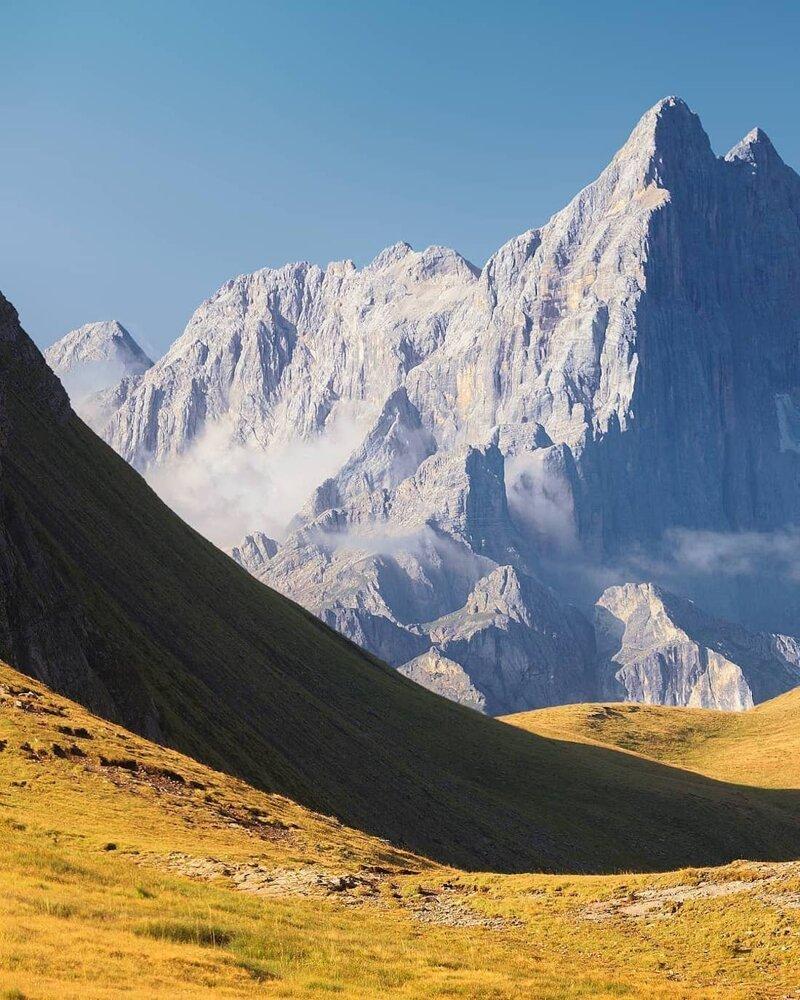 2. Альпы, горные вершины, горы, пейзажи, природа, фото природы, фотограф, фотографии природы