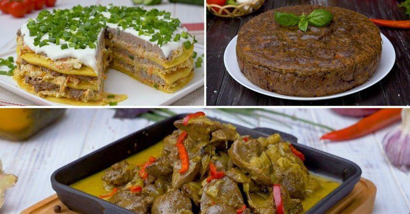 Блюда из печени: быстро готовятся и нежнее любого мяса