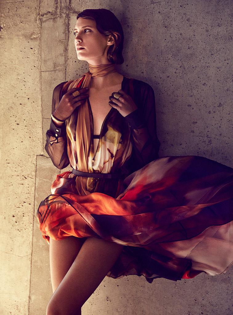 Дрейк Бернетт — Фотосессия для «Vogue» AU 2014