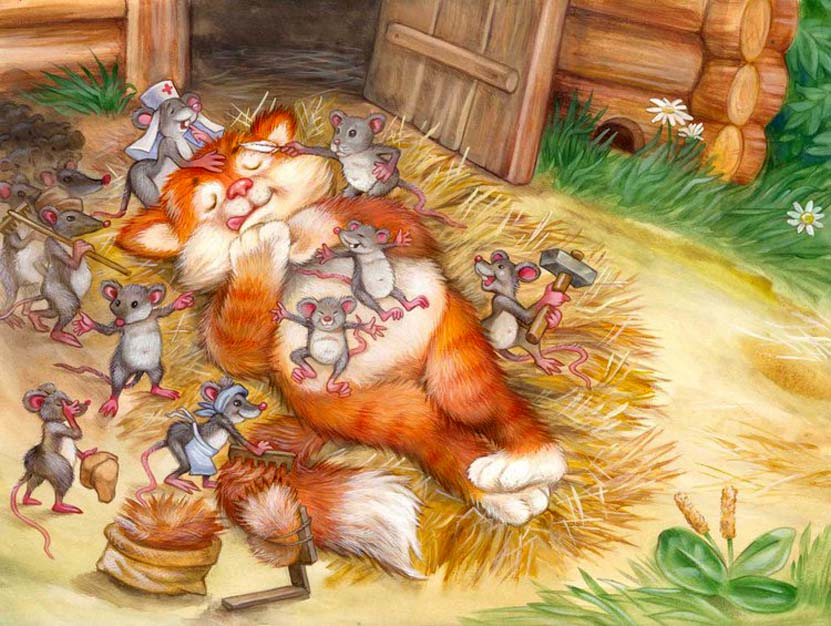 Картинки кот и мышь для детей, заказ красноярск