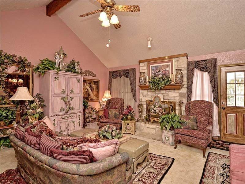 Дом за 0 тысяч из Техаса, может быть самым уродливым домом из всех, что вы когда-либо видели только, может, повсюду, здесь, много, хотели, кабинет, которые, пространство, немного, Здесь, цветочными, чтобы, этого, отчего, Однако, комнаты, также, ранчо, Техасе