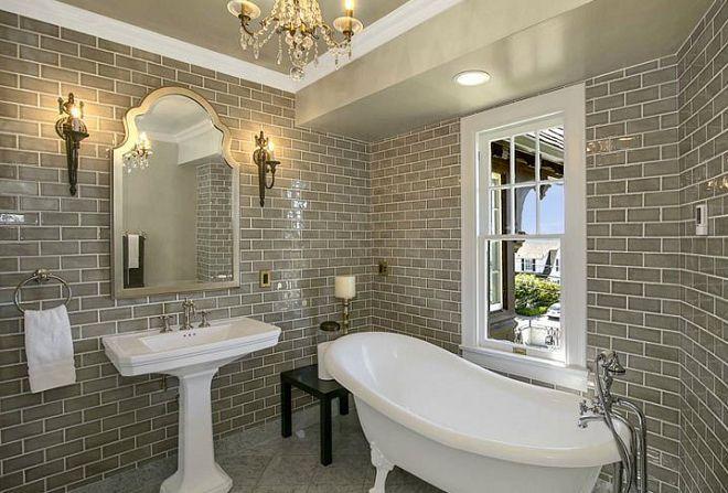 плитка в английском стиле для ванной