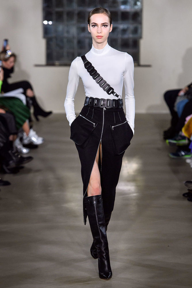 Весна 2020 — юбки сложного кроя, длина миди, фото № 44