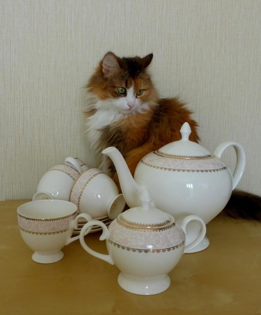 Опять чай? А где молоко?