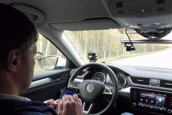 """Российские беспилотные машины научатся """"видеть"""" пешеходов"""