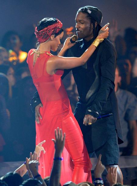 """A$AP Rocky подтвердил роман с Рианной: """"Любовь всей моей жизни"""" Звезды,Звездные пары"""