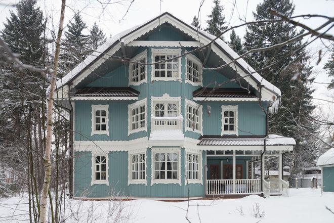 Кантри Фасад дома by Dacha-buro