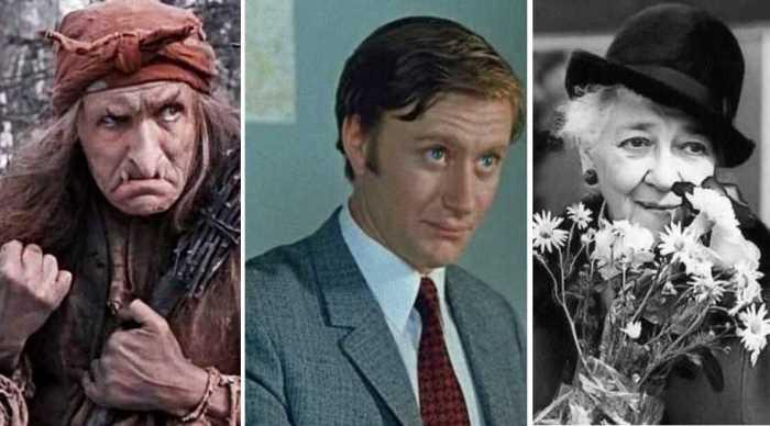 Советские актёры, которые по разным причинам смешили свои имена или фамилии Лучшее в интернете,советские актёры