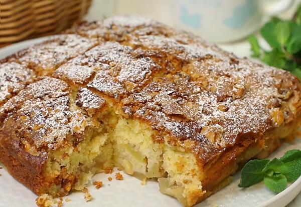 Норвежский яблочный пирог