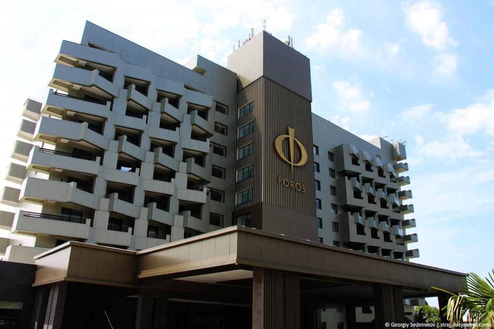 Здание санатория «Форос» преобразилось