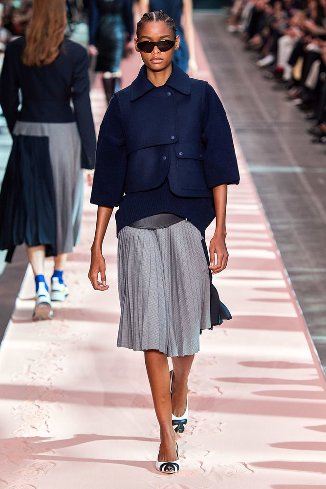 Весна 2020 — юбки сложного кроя, длина миди, фото № 18