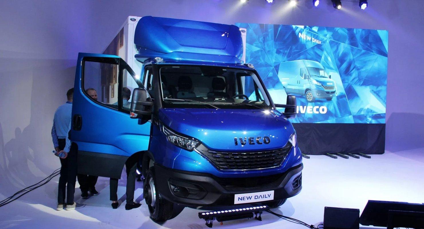 Обновлённый Iveco Daily презентовали в России Автоновинки