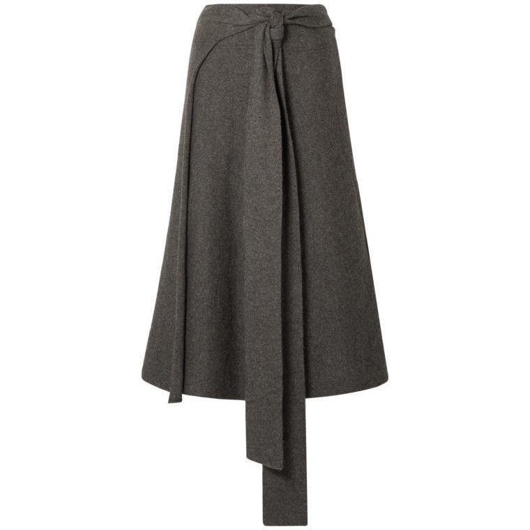 Весна 2020 — юбки сложного кроя, длина миди, фото № 32