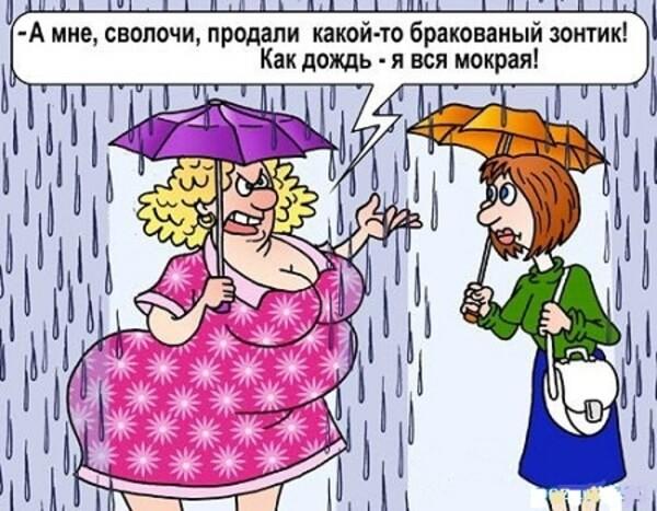 юмор картинки про дождь время человечество