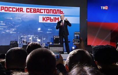 Путин поблагодарил крымчан за историческое решение