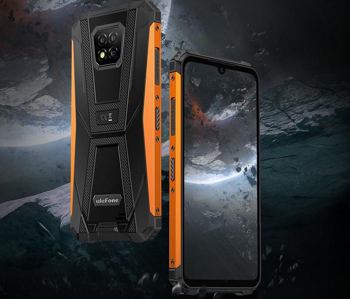 Неубиваемый смартфон с NFC и IP69K Ulefone Armor 8 Pro уже доступен за $170