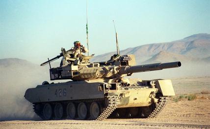 Для штурма Калининграда США меняют «Абрамсы» на легкие танки