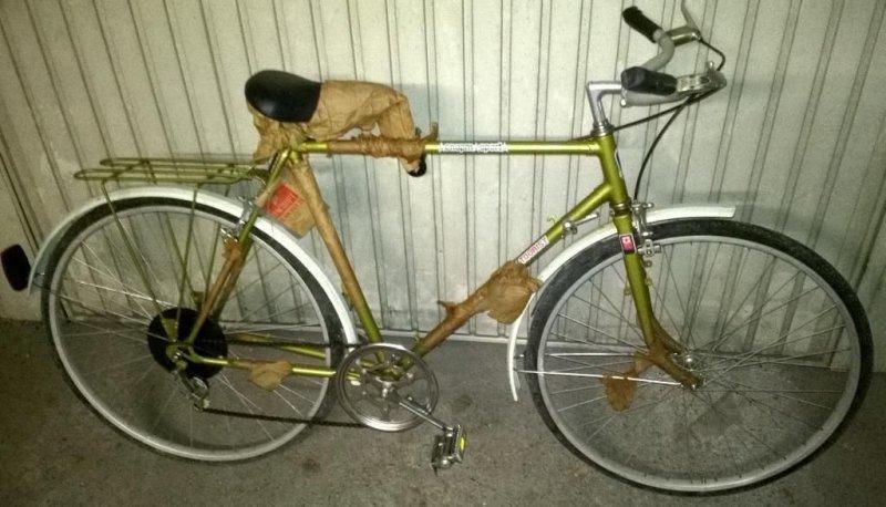 Капсула времени — велосипед …