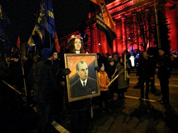 Бандеровский марш в Киеве: К…