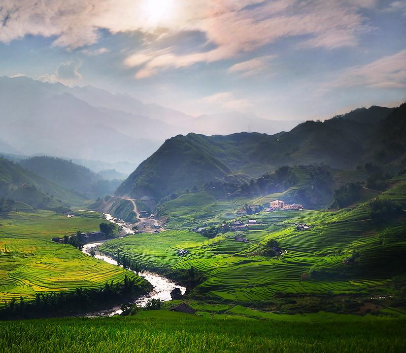 Азиатские пейзажи фотографа Вирапонг Чайпук (Weerapong Chaipuck)