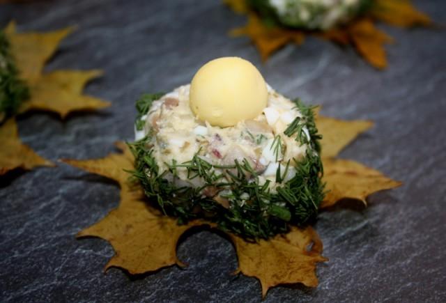"""Норвежские тефтели """"Птичьи гнезда"""" кулинария,кухни мира,салаты"""