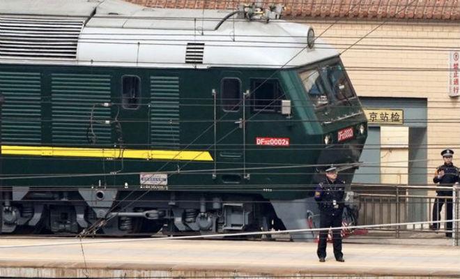 Личный бронепоезд Ким Чен Ына: смотрим устройство бронепоезд,Ким Чен Ын,поезд,Пространство,северная корея