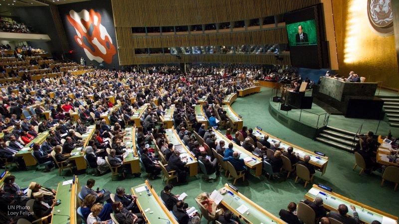 Вассерман оценил возможность перевода комитетов ГА ООН из США в Европу
