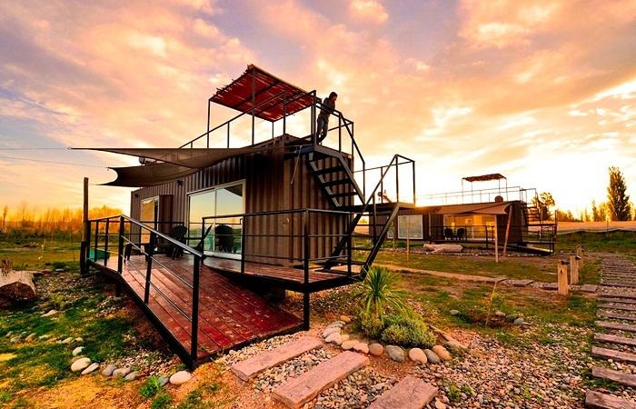 Эко-гостиница для отдыха на природе