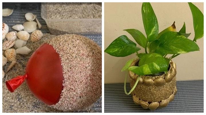 Как при помощи простого песка украсить ваш дом