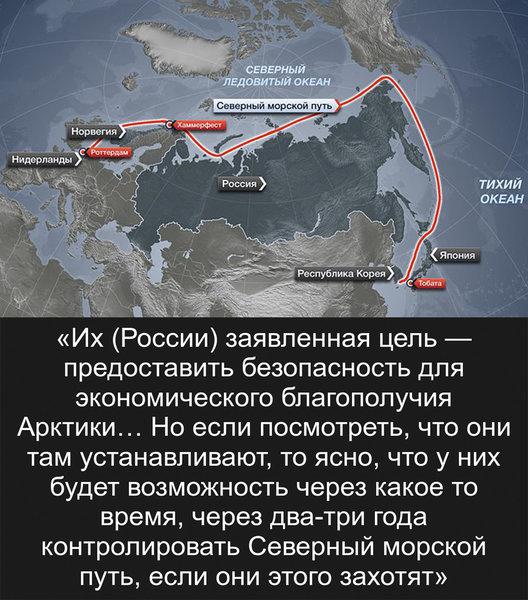 Военные США признались, что проиграли России войну за Арктику