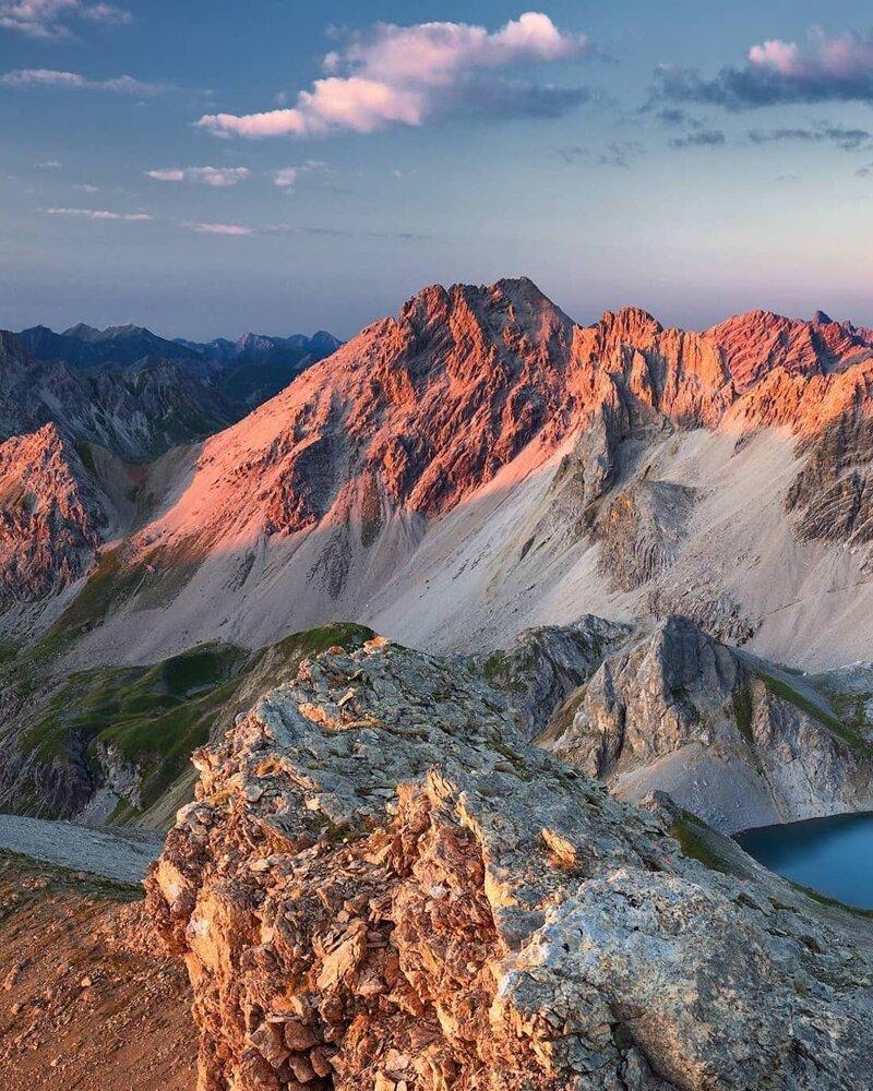 7. Альпы, горные вершины, горы, пейзажи, природа, фото природы, фотограф, фотографии природы