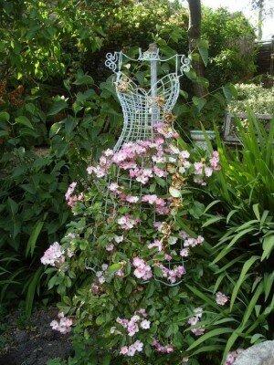 20 оригинальных опор для вьющихся растений. Почти все можно сделать своими руками для дома и дачи,идеи и вдохновение
