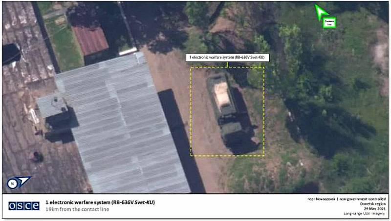 На Донбассе замечен редкий российский комплекс радиотехнической разведки РБ-636 «Свет-КУ» Новости