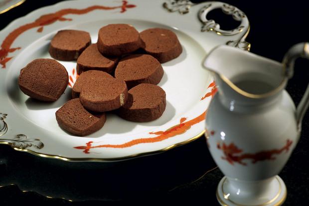 Фото к рецепту: Шоколадно-апельÑиновое печенье
