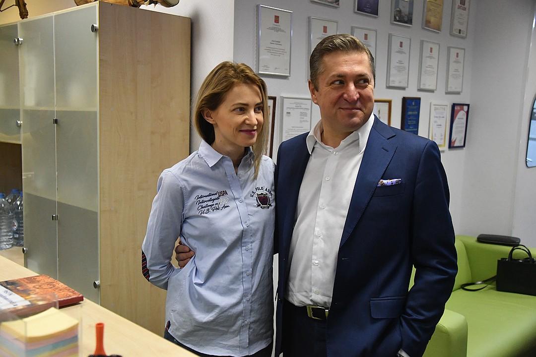 Наталья Поклонская и ее супруг, юрист Иван Соловьев Фото: Владимир ВЕЛЕНГУРИН