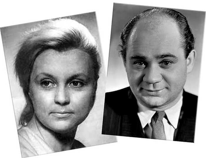Евгений Леонов и Ванда Стойлова.