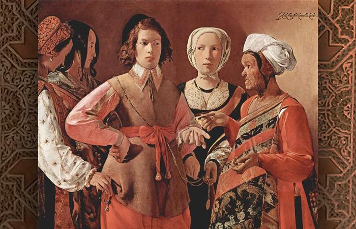 Загадочная история картины, о которой узнали только через 300 после ее создания: «Гадалка» де Латура