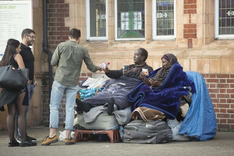 Работа на дому: сомалийцы живут на улице, отказываясь от жилья за 1500 фунтов