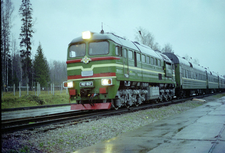 Россия воссоздает боевые железнодорожные ракетные комплексы