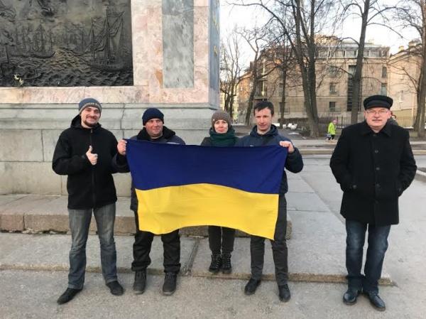 ВПетербурге арестовали проукраинского националиста