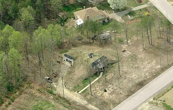 «Земляной» эко-дом в штате Мэриленд, США.