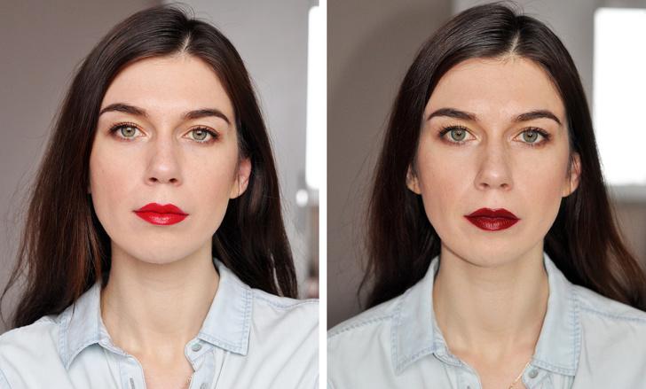 5 девушек сделали макияж по правилам, а затем нарушили их. Посмотрите, как изменились их лица