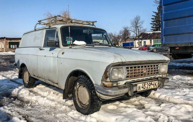 Москвич из Германии: экспортный фургон АЗЛК-434Э