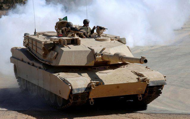 Американские танки подошли к Москве