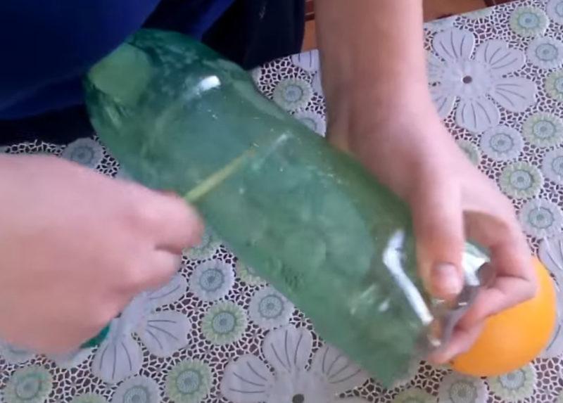 Гениальное изобретение для кухни из двух пластиковых бутылок интерьер,переделки,своими руками,сделай сам
