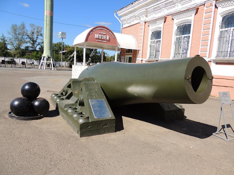 - Пермская Царь-пушка | Военно-исторический портал Warspot.ru